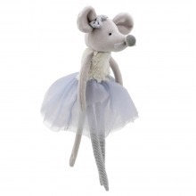 Wilberry Dancer Mouse Grey Tutu