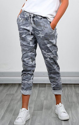 Stretchy Camouflage Trouser