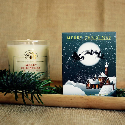 Winter Village Mulled Wine Candle