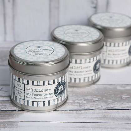 The Sea Shed Scented Soy Wax Candle