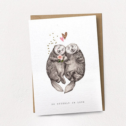 So Otterly In Love Card