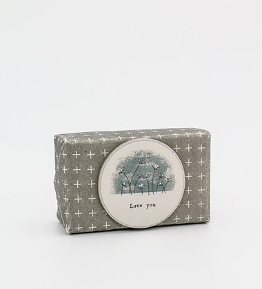 East of India Wrapped Soap
