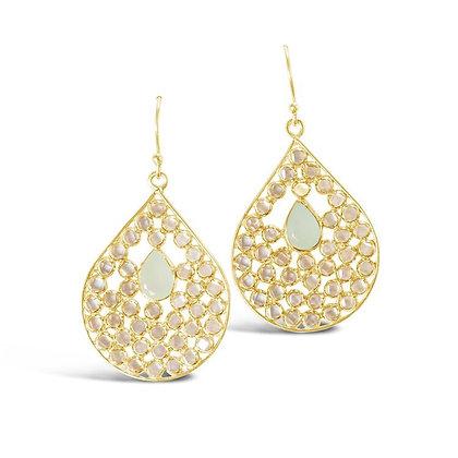 Gem Bazaar Crystal Gazing Earrings