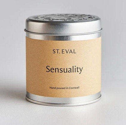 St. Eval Tinned Candle 'Sensuality'
