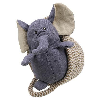Wilberry Grey Elephant in Basket