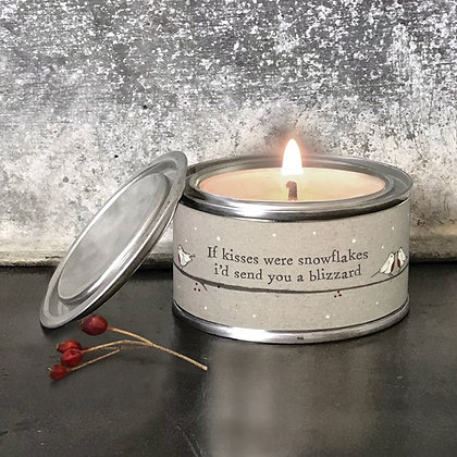 East of India Tinned Candle