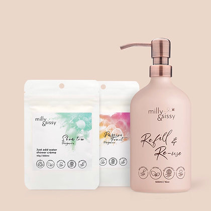 Milly & Sissy Shower Creme Gift Set