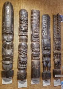 Hawaiian Tiki Totems