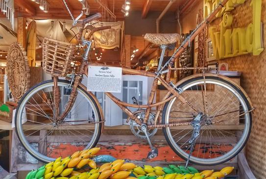 Bamboo & Rattan Bike