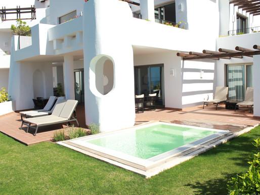 Vasos de piscinas para el Hotel Abama