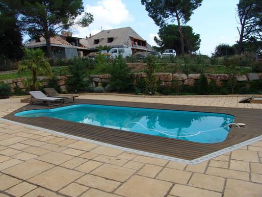 Guía para diseñar una piscina prefabricada de fibra de vidrio.