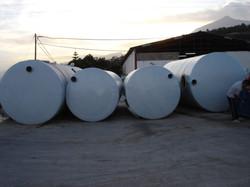 Depósitos almacenamiento de agua