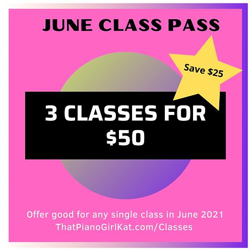 June Class Pass
