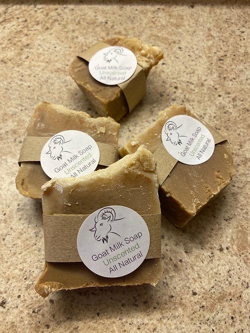 Goat milk soap bars unscented