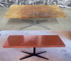 Table basse des années 60 -014-