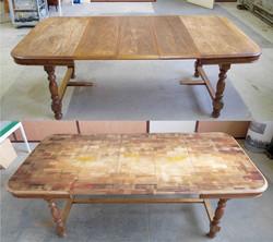 Table customisé sur commande.