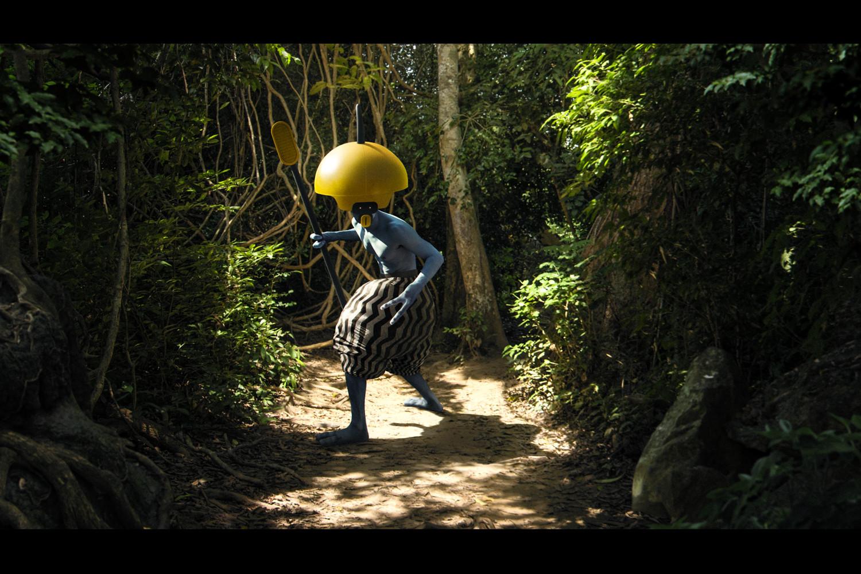 Jungle Man - Personal Matte Painting