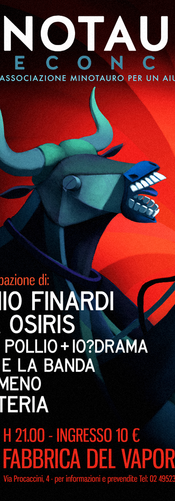 Minotauro Live Concert Poster