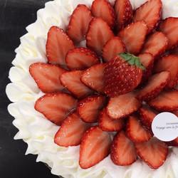Chantilly fraises