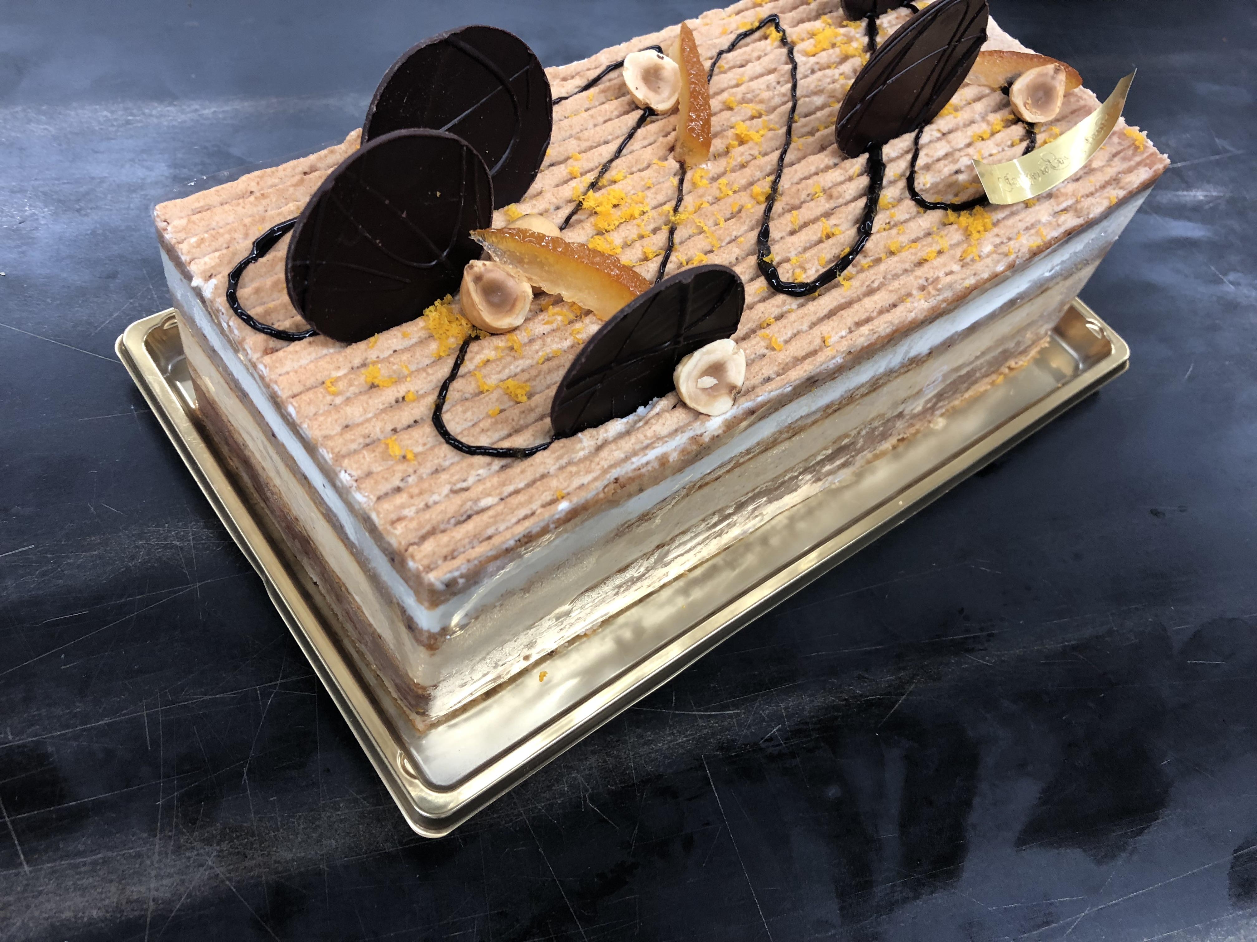 Gâteau Marjolaine