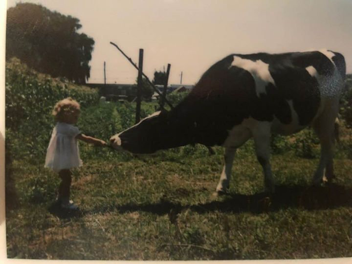 Me and a cow.jpg