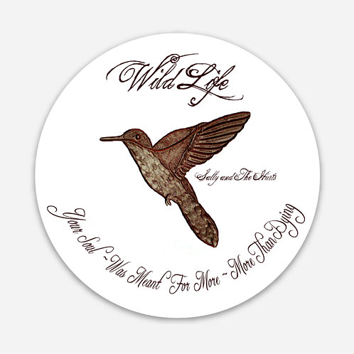 Hummingbird Sticker 3""