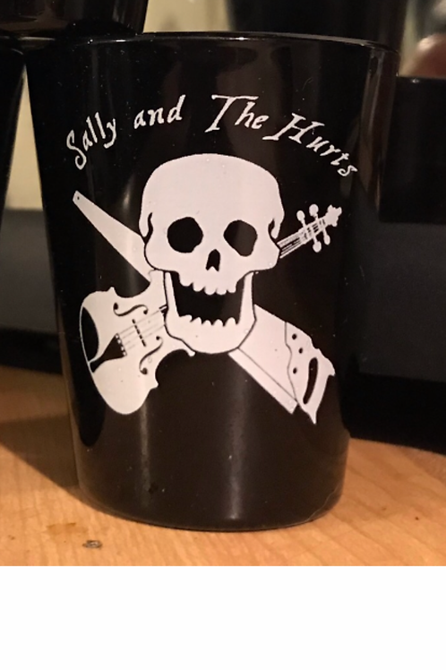 Jolly Sally Shot Glass