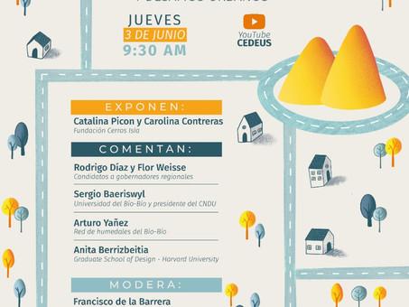 """Conversatorio """"Cerros Isla y Planificación Ecológica"""""""
