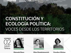 Conversatorio Constitución y Ecología Política
