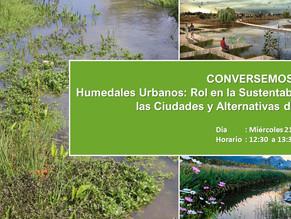 Conversatorio Humedales Urbanos