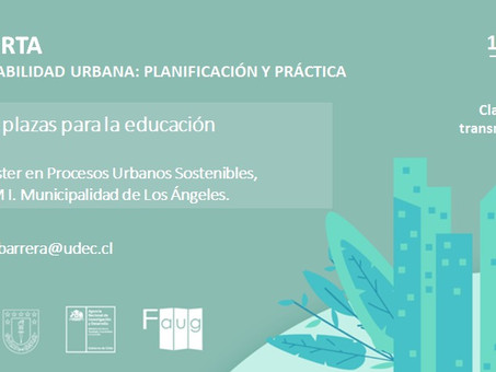 """""""Diálogo sobre plazas para la educación"""": clase abierta Universidad de Concepción"""