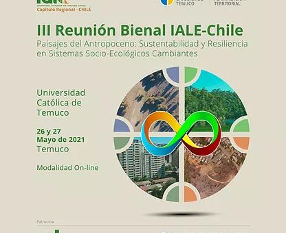 LEU expone en III Reunión Bienal IALE-Chile 2021