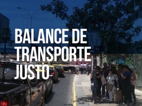 Balance de Transporte Justo