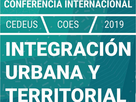 Laboratorio de Ecosistemas Urbanos participará en Conferencia Internacional De Integración Urbana.