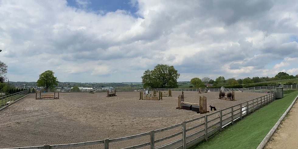 Showing & Working Hunter Clinic with BSPS 4A