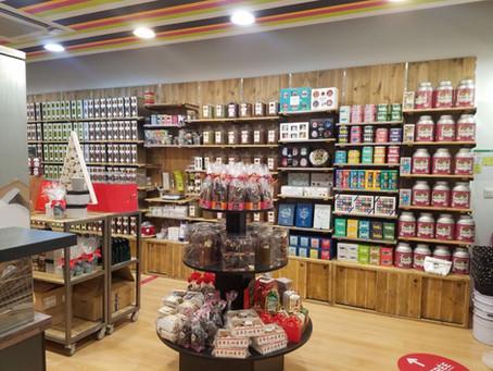 Les comptoirs Thé Café : ouverture
