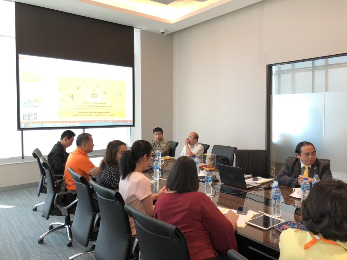 ประชุม5ฝ่ายโครงการวิจัย
