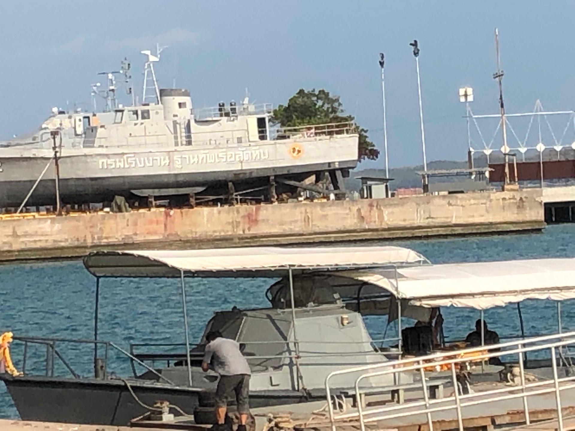 ฐานทัพเรือสัตหีบ