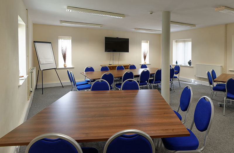 The spacious Whitbread Room
