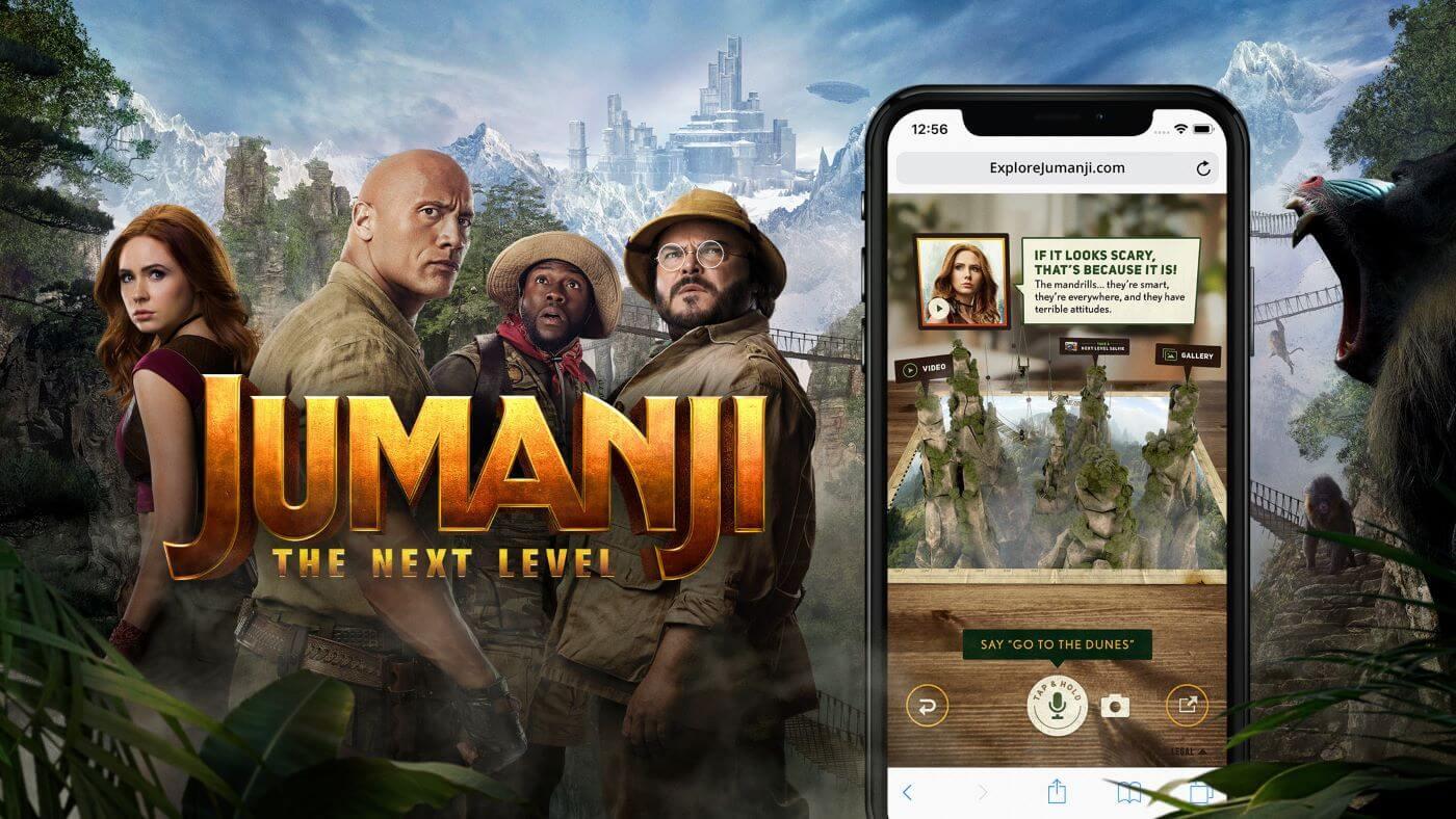 Sony - Jumanji: The Next Level marketing Strategy