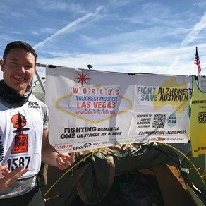 Worlds Toughest Mudder (WTM) - Las Vegas - 2016