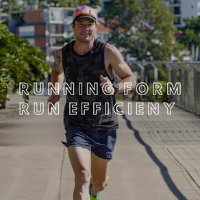 Running Form and Running Efficiency