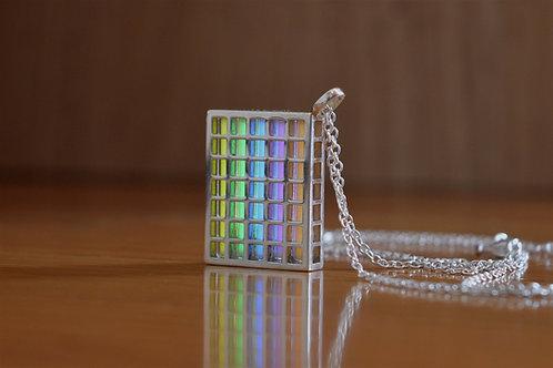 Tritium ''Quadratum'' Pendant - Silver Edition