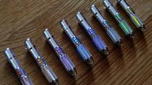 Tritium ''Lightsaber'' silver pendant