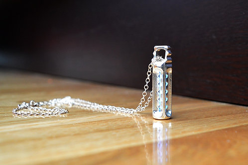 Tritium ''Guardian'' Pendant - Silver Edition