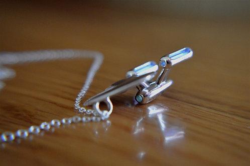 Tritium ''Enterprise'' Pendant - Silver Edition