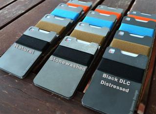Ti-CRD: The Titanium slim wallet / card holder