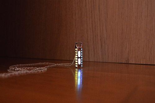 Tritium ''TriGlow'' Pendant - Silver Edition