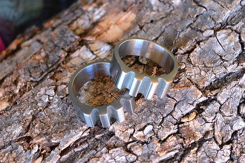 Titanium ''Impact'' Ring