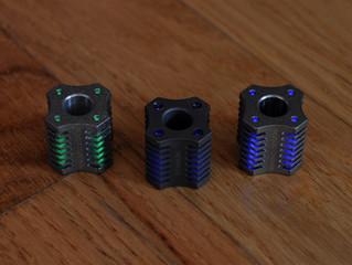 ''Tetra'' Tritium - Titanium Beads